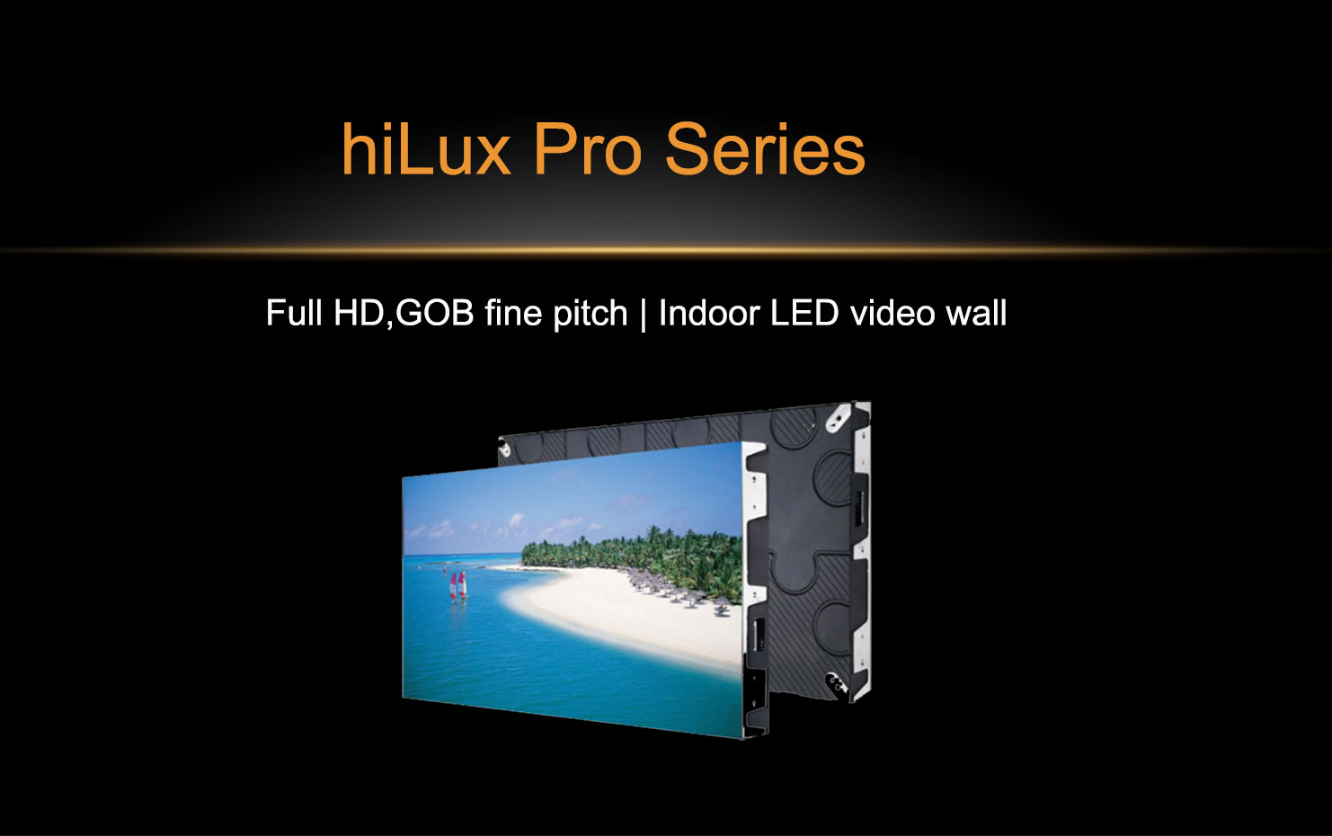 TV LED video wall