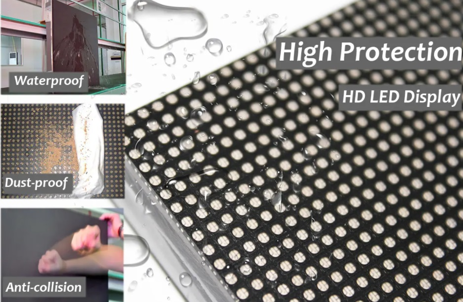 cob led screen/gob led screen difference