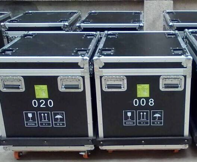 LED display flight case package