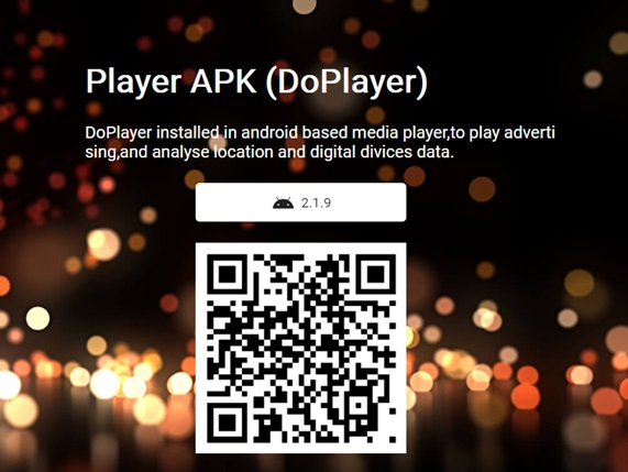 Download DoPlayer for led screen