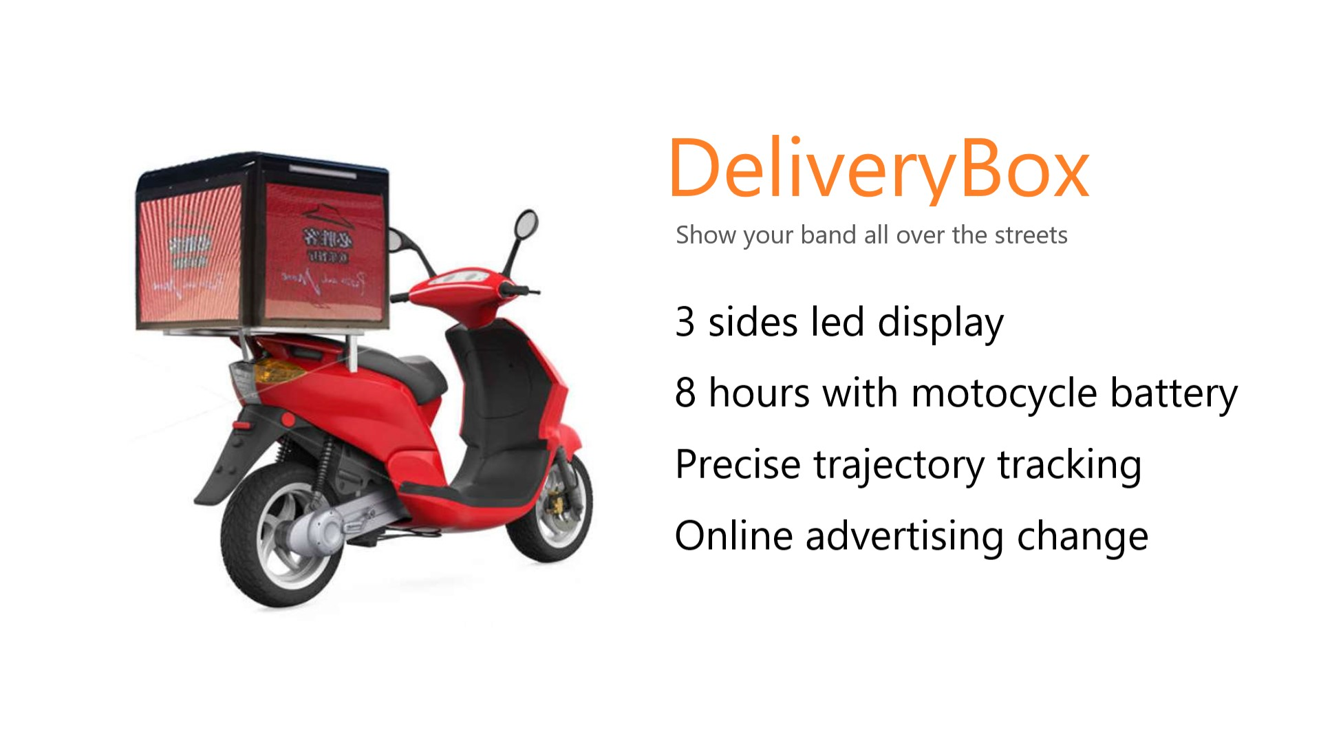 outdoor delivery box led display for express company-from sostron